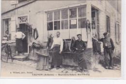 TAGNON : Bourrelerie Sellerie MATHIEU - Bon état (un Petit Pli D'angle) - Autres Communes
