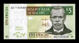 Malawi 5 Kwacha 2005 Pick 36c SC UNC - Malawi