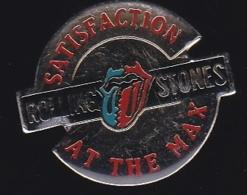 64968- Pin's-The Rolling Stones Est Un Groupe De Rock Britannique - Musique