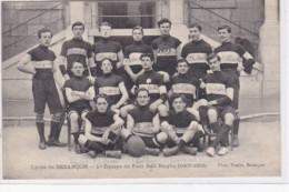 BESANCON : Le Lycée - Première équipe De Football Rugby En 1907-08 - Très Bon état - Besancon