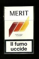Tabacco Pacchetto Di Sigarette Italia - Merit 1 Da 20 Pezzi ( Tobacco - Tabac - Tabak - Tabaco ) - Empty Cigarettes Boxes