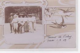 VICHY : Carte Photo Du Club Tennis En 1903 - Très Bon état - Vichy