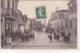BEGLES : Façade De La Manufacture D'allumettes Et Cours Victor Hugo - Très Bon état - Andere Gemeenten