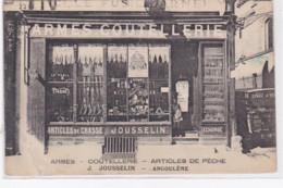 ANGOULEME : Armurerie Coutellerie JOUSSELIN - état (un Coin Plié) - Angouleme