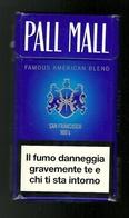 Tabacco Pacchetto Di Sigarette Italia - Pall Mall San Francisco 100's N.01 Da 20 Pezzi  - Tobacco-Tabac-Tabak-Tabaco - Empty Cigarettes Boxes