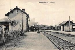 MERINCHAL : La Gare - Très Bon état - Autres Communes