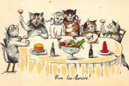 BOURET Germaine ? : Chats Humanisés (vive Les Mariés) - Très Bon état - Bouret, Germaine