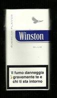 Tabacco Pacchetto Di Sigarette Italia - Winston Blue Da 20 Pezzi  N.3 - Tobacco-Tabac-Tabak-Tabaco - Empty Cigarettes Boxes