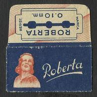 Razor Blade ROBERTA Old Vintage WRAPPER (see Sales Conditions) - Razor Blades