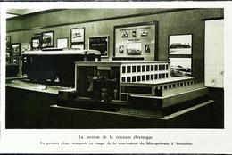Versailles  - Maquette Sous Station Du Métropolitain - Coupure De Presse (encadré Photo) De 1962 - Modell-Eisenbahn