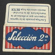 Razor Blade SELECCION 2a Old Vintage WRAPPER (see Sales Conditions) - Razor Blades