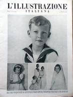 L'Illustrazione Italiana 20 Giugno 1943 WW2 Pietroburgo Medaglie Marina Venezia - Guerre 1939-45