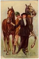 FANTINI E CAVALLI - Vedi Firma Illustratore - 1919 - Vedi Retro - Formato Piccolo - Altre Illustrazioni
