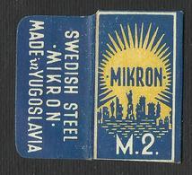 Razor Blade MIKRON M.2 Old Vintage WRAPPER (see Sales Conditions) - Razor Blades