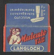 Razor Blade MULCUTO Old Vintage WRAPPER (see Sales Conditions) - Razor Blades