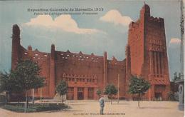 MARSEILLE - Exposition Coloniale 1922 Palais De L'Afrique Avec Pub BANANIA Au Dos - Expositions Coloniales 1906 - 1922