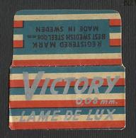 Razor Blade VICTORY Old Vintage WRAPPER (see Sales Conditions) - Razor Blades