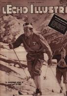 L'Echo Illustré 1948 - Sports - Péguy Tharaud - Incendie Bessans - Finlande URSS Staline - Evolution Du Monde Arabe - - 1900 - 1949