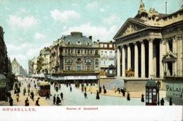 Bruxelles Bourse Et Boulevard  Tram - Autres