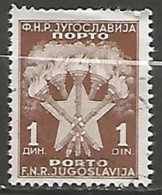 YOUGOSLAVIE / TAXE N° 114 OBLITERE - Portomarken