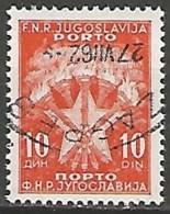 YOUGOSLAVIE / TAXE N° 117 OBLITERE - Portomarken