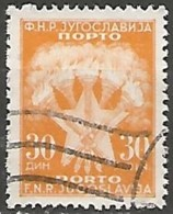 YOUGOSLAVIE / TAXE N° 119 OBLITERE - Portomarken
