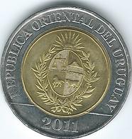 Uruguay - 2011 - 10 Pesos - KM134 - Uruguay