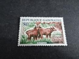 K31334 -stamp Mint Hinged Gabon 1964 - MI. 201 - Buffles - Autres