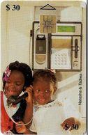 Zimbabwe - PTC - Natasha & Tadiwa 2 (With Names), Cn. 0018, Exp. 05.2000, 30Z$, 52.000ex, Used - Zimbabwe