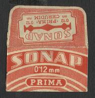 Razor Blade SONAP Old Vintage WRAPPER (see Sales Conditions) - Razor Blades
