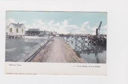 GALVESTON TEXAS GRADE RAISING SHOWING DREDGE - Galveston