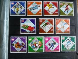 (va) REP DE GUINEA ECUATORIAL SET FROM11 MNH OLYMPIC GAMES 1976 INSSBRUCK. - Inverno1976: Innsbruck