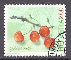 Switzerland / Swiss / Schweiz - 2006 Fruits, Cherries, Cerises, Ciliegie - Used - Zwitserland