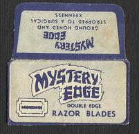 Razor Blade MISTERY EDGE Old Vintage WRAPPER (see Sales Conditions) - Razor Blades