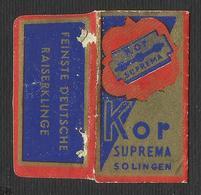 Razor Blade KOR SUPREMA Old Vintage WRAPPER (see Sales Conditions) - Razor Blades