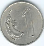Uruguay - 1980 - 1 New Peso - KM74 - Uruguay