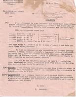 Lettre Du Maire De Gérardmer (88), 22/3/1944 - Documents Historiques