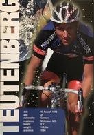 Postcard Sven Teutenberg - US Postal - 1997 - Ciclismo