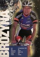 Postcard Tomasz Brozyna - US Postal - 1997 - Ciclismo