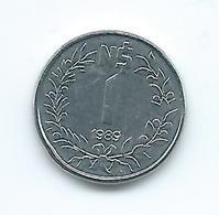 Uruguay - 1989 - 1 New Peso - KM95 - Tiny Coin - UNC - Uruguay