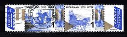 Nederland 2020 Nvph ???, Mi Nr ?? Oude Postroutes, Internationaal, Europa, Paard, Horse, Postkoets, Gestempeld - Used Stamps