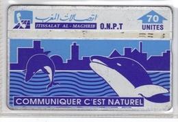 Carta Telefonica Marocco - Communiquer.. -  Carte Telefoniche@Scheda@Schede@Phonecards@Telecarte@Telefonkarte - Morocco