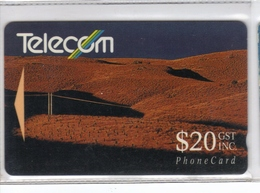 Carta Telefonica Nuova Zelanda - $.20 -  Carte Telefoniche@Scheda@Schede @Phonecards@Telecarte@Tel Efonkarte - Nouvelle-Calédonie