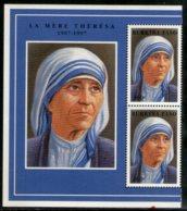 Burkina Faso 1998 Mother Teresa Of India Nobel Prize Winner Sc 1096 MNH # 6227 - Mother Teresa