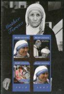 Grenada 2011 Mother Teresa Of India Nobel Prize Winner Sc 3818 Sheetlet MNH # 6332 - Mother Teresa