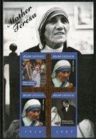 Grenada 2011 Mother Teresa Of India Nobel Prize Winner Sc 3819 Sheetlet MNH # 6005 - Mother Teresa