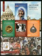 Grenada Grenadines 2011 Mother Teresa Of India Nobel Prize & Bharat Ratna Winner Sc 2774 Sheetlet MNH # 6327 - Mother Teresa