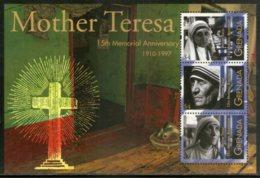 Grenada 2012 Mother Teresa Of India Nobel Prize Winner Sc 3850 Sheetlet MNH # 8437 - Mother Teresa