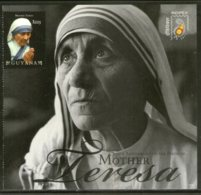 Guyana 2011 Mother Teresa Of India Nobel Prize Winner Sc 4065 Sheetlet MNH # 9284 - Mother Teresa