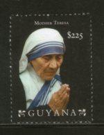 Guyana 2011 Mother Teresa Of India Nobel Prize Winner Sc 4065 MNH # 763 - Mother Teresa